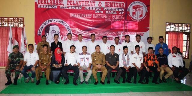 Bupati Sambut Baik Seminar BARA-JP Kabupaten Lampura