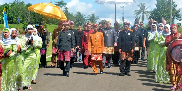 Kedatangan Bupati Pesawaran H.Dendi Ramadhona, ST