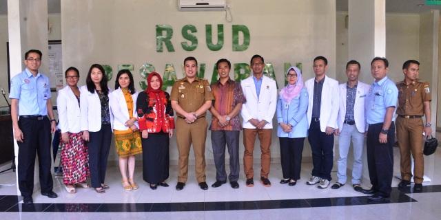 Foto bersama dengan para Dokter Sepesialis
