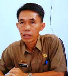 Plt. Kepala Badan Pengelola Keuangan dan Aset Daerah (BPKAD) Lamsel Edy Firnandi
