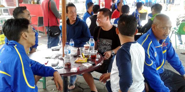 Panitia Sambut Tim Porwanas Lampung di Hotel Abadi Asri