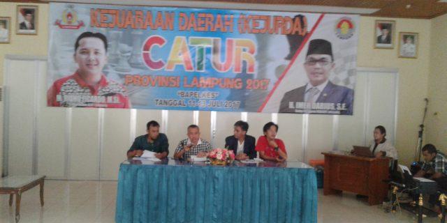 Koni Provinsi Lampung Gelar Kejurda Catur Provinsi Lampung 2017