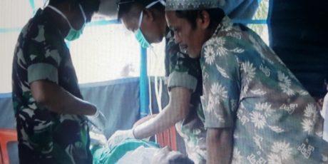 TNI Lakukan Baksos Pada Puncak Latihan Antar Kecabangan