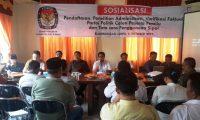 KPU Way Kanan Gelar Sosialisasi Pendaftaran Parpol
