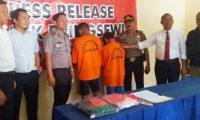 Tersangka Tipu Gelap di Pringsewu Diamankan Polisi