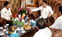 Pengurus Hindu Dharma Indonesia Beraudiensi dengan Bupati Lampura