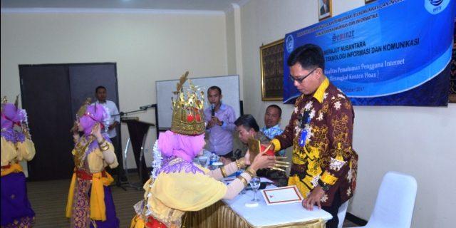 Hendrayani Wakili Gunawan Hadiri Seminar Menteri Kominfo RI