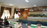 Chusnunia, Bekali Kontingen Pramuka Lampung Timur Dengan Doa