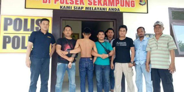 Polisi Tangkap Pembobol Kantor KUA Sekampung