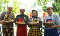 "Bupati & Wakil Bupati ""Tantang"" TNI & Polri Di Halaman Pemda Lampung Timur."