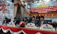 DPRD Lampura Gelar Paripurna Mendengarkan Pidato Presiden RI (adv)