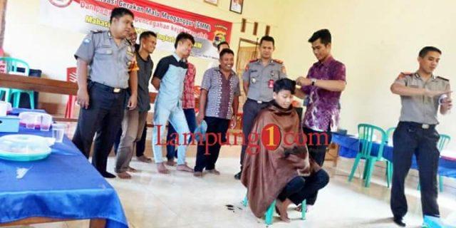 """Mahasiswa STIK / PTIK POLRI Dukung Program """"Gerakan Malu Menganggur"""" Bupati Lampung Timur"""