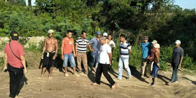 Polisi Tangkap 8 Tersangka Penambang Pasir Ilegal
