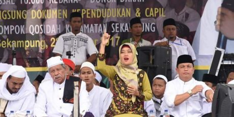 Bupati & Wakil Bupati Meriahkan Hari Santri Di Lampung Timur