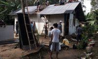 Rumah Warga Lampung Timur Rusak Tersambar Petir