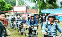 Lampung Timur Gelar Festival Motor Antik