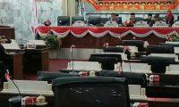 Akibat Tidak Kourum, Rapat Paripurna DPRD Lampura Ditunda