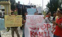 PWRI, KWRI dan PJI-D Demo Pelecehan Wartawan