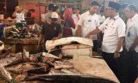 Hi.Syamsul Hadi Sidak Pasar Antisipasi Pedagang Nakal