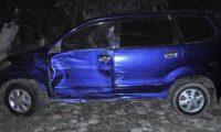 Mobil Berplat Merah Diduga Penyebab Kecelakaan di Jalinsum
