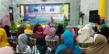 Kader PAN Siap Bersatu Bangun Kota Metro