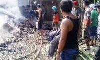Diduga Akibat Korsleting Listrik, Satu Rumah Warga Ludes Terbakar