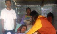 Kepala Tiyuh Margo Mulyo Akan Tanggung Biaya Pengobatan Ibu Erlina