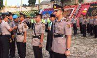 AKBP Alfis Suhaili Pimpin Serah Terima Jabatan Dua Kapolsek Polres Tanggamus