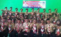 Peserta Raimuna Nasional Kontingen Tanggamus Diharapkan Bisa Jadi  Pramuka Garuda
