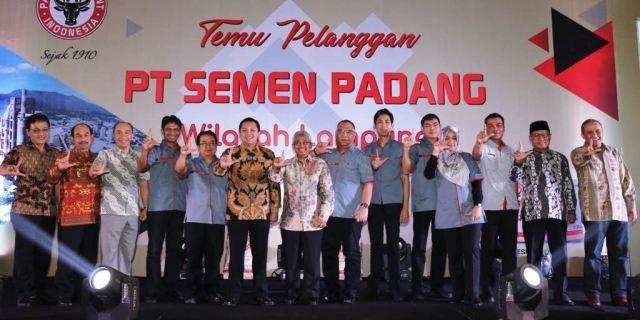 Ridho Ficardo Ajak Semen Padang Dukung Pembangunan Infrastruktur
