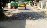 Lempasing Dapat Bantuan Pembangunan Jalan dari Pemkab Pesawaran