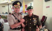 Dandim 0424 dan Kapolres Tanggamus Wujudkan Indonesia Berkasih Sayang