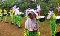 SDN 2 Sidoharjo Pringsewu Punya Drum Band Tampilan Perdana HUT RI Ke-72
