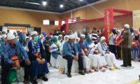 Jamaah Haji Asal Lambar Tiba di Tanah Air