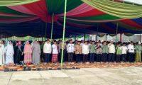 Ribuan Jama'ah Padati Pengajian Akbar yang Digelar Pemkab dan NU Lambar