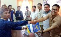 PDIP, Nasdem, dan Gerindra Serahkan Berkas Pendaftaran ke KPUD Way Kanan