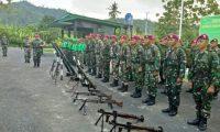Danpuslatpur Teluk Ratai Lampung Buka Kursus Senjata Bantuan Infanteri Korps Marinir 2017