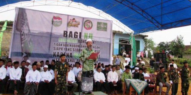 Ketua NU Lambar, Peringati Hari Santri Nasional di Ponpes Roudlotus Sholihin.