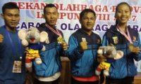 Karateka Waykanan Sumbang 2 Mendali Emas 2 Perak 1 Perunggu Pada Porprov Ke-VIII Lampung,