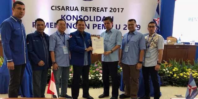 Demokrat Resmi Usung Ridho Pada Pilgub Lampung 2018