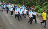 Hari Korpri Ke-46, Pemkab Waykanan Gelar Jalan Sehat