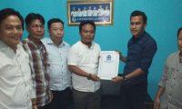 Ketum Aspekindo Lampung Serahkan SK ke Sirli Hayadi Sebagai DPK Aspekindo