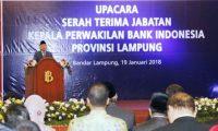 Gubernur BI Nilai Ridho Berhasil Jaga Pertumbuhan Ekonomi Lampung