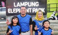 Gubernur Ridho Ficardo Resmikan Lampung Elephant Park