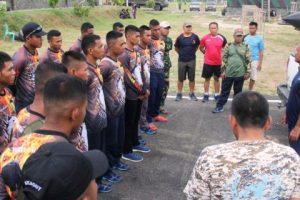 Atlit Renang dan Dayung Yonif-7 Marinir Siap Berlaga di Selat Sunda