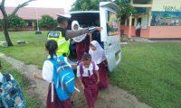 Tekan Angka Kecelakaan Pelajar, Satlantas Lampung Timur, Siapkan Mobil Sekolah Gratis