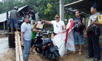 Anggota Polres Way Kanan Grebek Lokasi Sabung Ayam