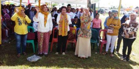 Arinal-Nunik Kampanye Diempat Lokasi di Lampung Barat