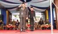 HUT Tanggamus dan Provinsi Lampung, Pemkab Tanggamus Upacara di Lapangan Merdeka