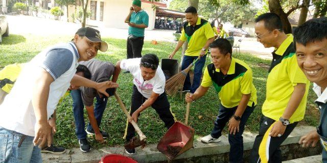 Disdik Tuba Lakukan Jum'at Bersih